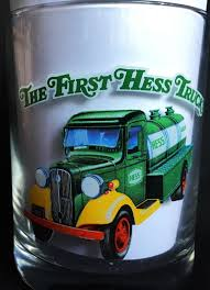 Hess Toy Truck Two (2) Glass