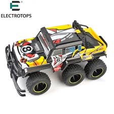 ET RC Cars 6 Wheels 4X4 RC Car 1/12 Scale 4WD RC RTR Monster Truck ...