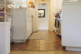 Simple DIY Temporary Kitchen Floors