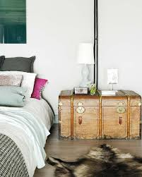 Eclectic Bedroom Interior An Industrial Romance