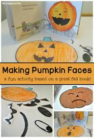 Books About Pumpkins For Toddlers by Build A Pumpkin Face Activity For Kids Read U0026 Play Ideas Where