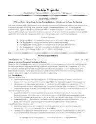 Architect Resume Template It Solutions Sharepoint Solution Sample