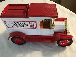 100 Ertl Trucks Diamond Crystal Salt Co 1913 Ford Model T Van Delivery ERTL Truck Bank WKey