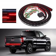 100 Led Truck Light Bar 60 Red White LED TAILGATE TRUCK LIGHT BAR STRIP FOR Ford F150 250