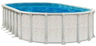 Oval Above Ground Swimming Pool Kits