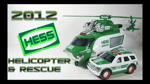 100 Hess Truck 2012 Helicopter And Rescue Video Review YouTube