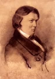 Robert Schumann 1853 Zeichnung Von Jean Joseph Bonaventure Laurens