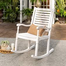 Three Posts Jarrard Solid Acacia Wood Patio Rocking Chair Sunnydaze Outdoor Patio Rocking Chair Allweather Faux Wood Design Gray Mbridgecasual Amz130818g Bentley Porch Rocker Green Intertional Concepts Black Solid Types Of Chairs Sunniland White Wooden Pamapic 3piece Bistro Set Wicker Chairstwo With Seat And Back Cushions Beige Sophisticated Glass 4 Cast Alinum Frame W Red Acrylic 32736710 Bradley Slat Outside Nautical Msoidkinfo Jumbo Front Stock Photo Image Light