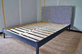 Twin Bed Frames Ikea by Bedroom Awesome Bedroom Decoration Using Navy Blue Zigzag Pattern