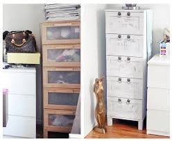 boring birch ikea chest of drawers makeover from drab to fab