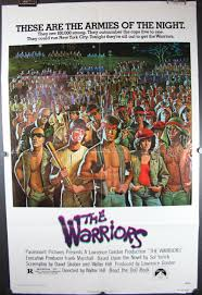 J Queen New York Paramount Curtains by The Warriors Original Cult Movie Theater Poster For Sale