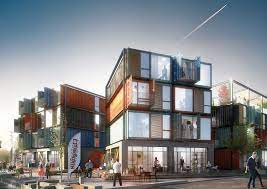 104 Shipping Container Design Arkitema Architects S 30 Apartments In Roskilde Denmark Archdaily