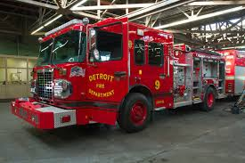 100 New Fire Trucks Just In Time For Devils Night Detroit Gets New Fire Engines