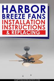 Harbor Breeze Armitage Ceiling Fan Manual by Best 25 Harbor Breeze Fans Ideas On Pinterest Outdoor Fans