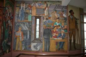 Coit Tower Murals Images coit tower scheuer and daum mural san francisco ca living new