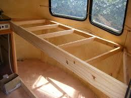 fabriquer un lit superposé pour caravane