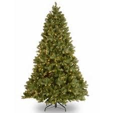 National Tree Company 75 Ft Pre Lit Green Douglas Fir Down Swept Artificial Christmas