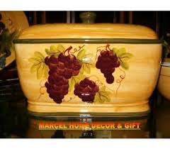 Tuscan Wine And Grape Kitchen Decor by 58 Best Grape And Wine Decor Images On Pinterest Wine Decor