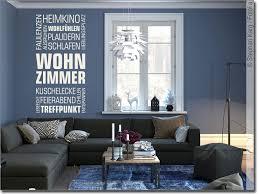 wandtattoo wortwolke wohnzimmer