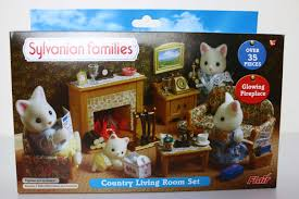 Calico Critters Master Bathroom Set by Country Living Room Set Sylvanian Families Youtube