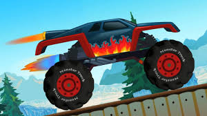 Toy Monster Truck | Monster Truck Game Play | Stunts And Actions ...