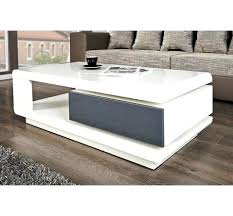 table basse blanc laquee table basse relevable blanc laque but