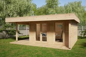 100 Modern Summer House Hansa Lounge XL With Veranda 145m 44mm 6 X