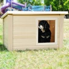 Rustic Lodge Dog House
