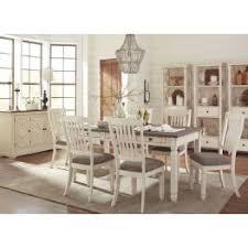 Bolanburg White And Gray Rectangular Dining Room Set