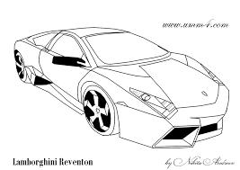 Coloring Page Lamborghini Reventon Raskraska Lamborjini