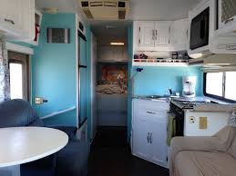 Living Room Agreeable Our Class Motorhome Renovation Heath And Alyssa Shasta Camper Remodel Ideas Old Th