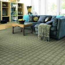 sophisticated patterned carpet gives this room character nest