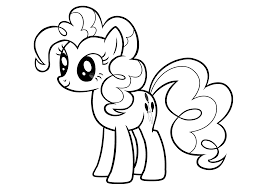 My Little Pony Pinkie Pie Coloring Pages For Kids Printable Free