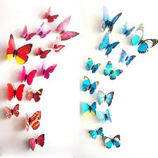 Paper Butterfly Wall Decor Design Ideas For Unique Image Of