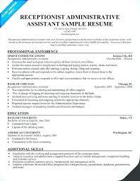 Administrative Assistant Resume Skills List