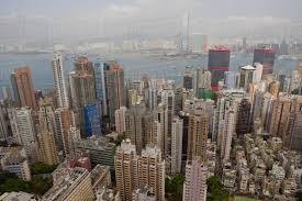 100 Hong Kong Skyscraper View From Skyscrapers China Stock Photo