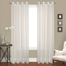 Kohls Sheer Curtain Panels by Amazon Com United Curtain Venetian Crushed Voile Window Curtain