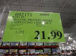 Svelte Organic Protein Shake Costco 3 1