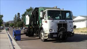 Waste Management Garbage Trucks - YouTube