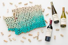 Wine Bottle Cork Holder Wall Decor by Wine Cork Crafts Recycled Wine Corks