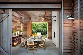 Rustic Dining Room Decorations by 25 Diverse Dining Rooms With Sliding Barn Doors