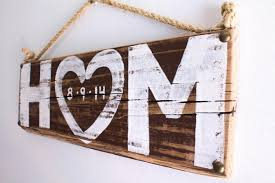 Rustic Wedding Decor Personalized Love Sign Beach Outdoor Country White Reception Vintage Photo Prop Bridal Shower