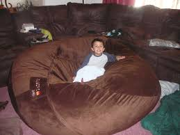 Decor Family Room Design With Lovesac Bean Bag And
