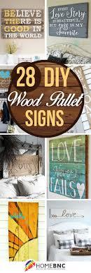 DIY Pallet Wood Sign Ideas