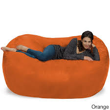 Orange Bean Bag Chairs For Less