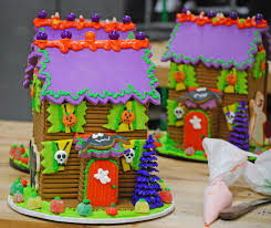 Bakery Story Halloween 2013 by Halloween Fun Haunted Gingerbread Houses Gingerdead Men And