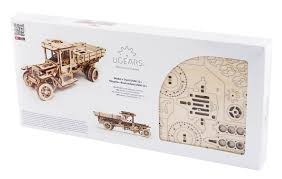 UGears UGM 11 Truck Kit - Mechanical 3D Model Product Gls Educational Supplies New 3d Wooden Truck Puzzle Jigsaw Lorry Model Toy Diy Kit For Buy Kids Manual Assembly Puzzles At Making A Monster Youtube Personalized Fun Tractor Trailer Shpull Moving Single Piece Hand Painted Wooddecom Custom Built Allwood Ford Pickup Large Wooden Truck With Blocks Luxe Edition Happy Little Folks Stone Blue Designnutee Dump With Tank Isolated On White Background Stock