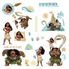 Wall Decor Stickers Target by Moana Wall Decals Target