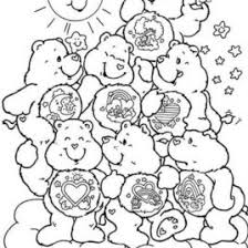 Care Bears Coloring Pages Printable AZ