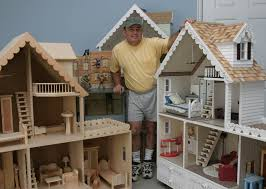 martin specializes in building hand crafted solid wood doll